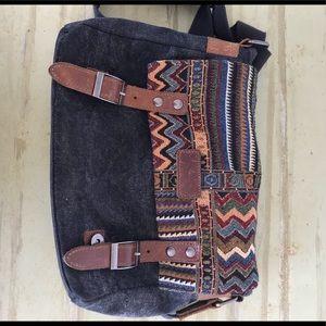 Handbags - Bohemian styled crossbody bag